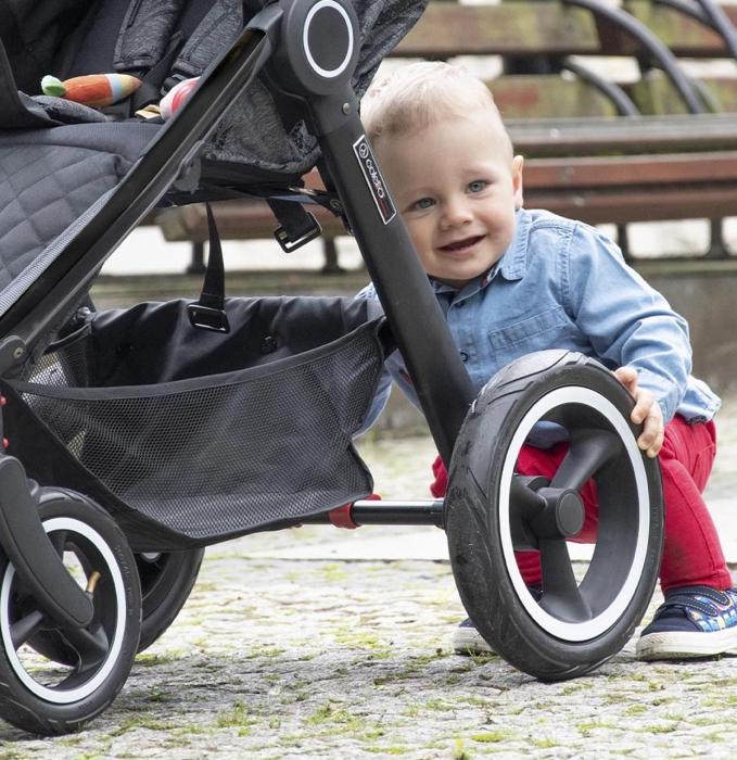 duże koła wózek spacerowy Joggy